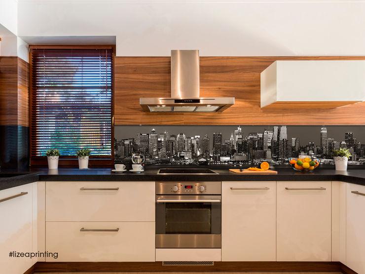 Retro cucina personalizzato New York Skyline lizea sas CucinaAccessori & Tessili Alluminio / Zinco