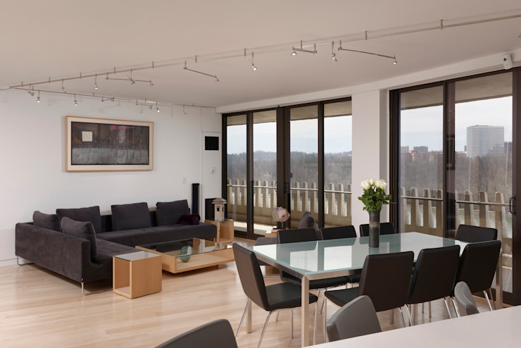 BOWA - Design Build Experts Salas de estilo moderno