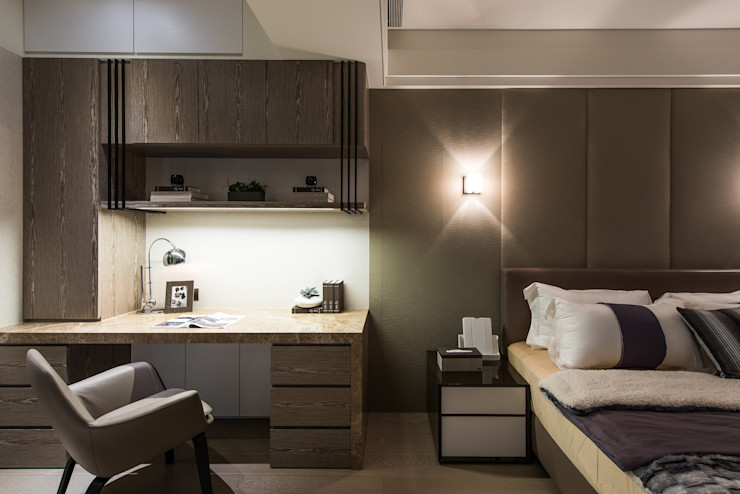 汎羽空間設計 Chambre asiatique