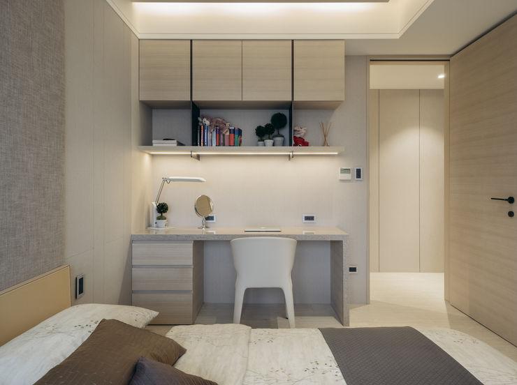 汎羽空間設計 Chambre moderne