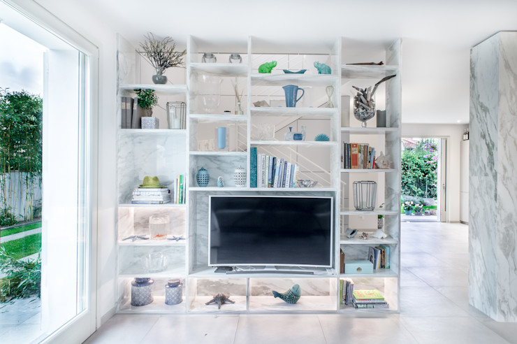 STUDIO PISANI Modern Living Room