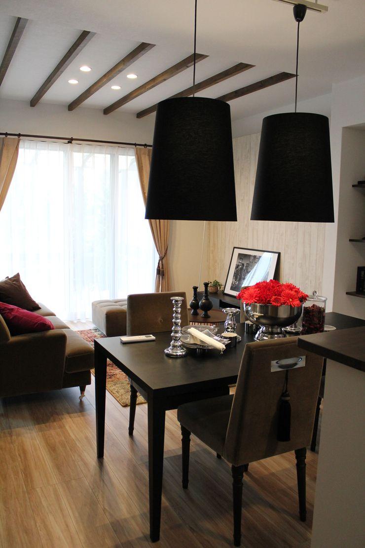 コト Dining roomLighting Vải lanh / vải lanh Black