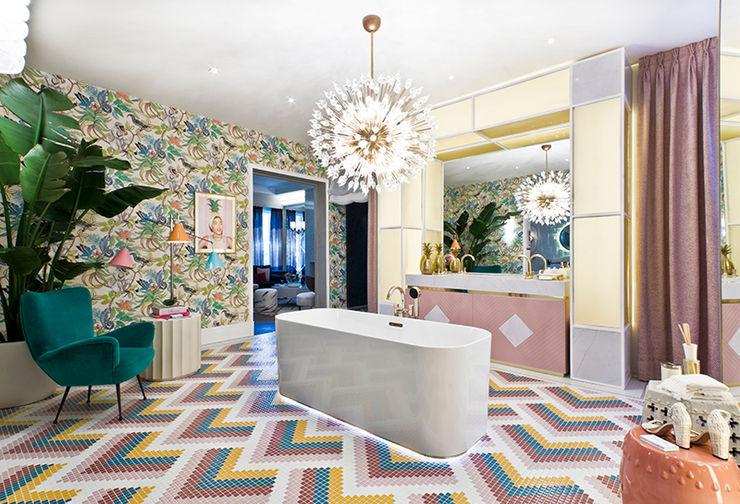 El baño de Nuria Alía en Casa Decor: Despertar de los sentidos Villeroy & Boch Baños de estilo moderno