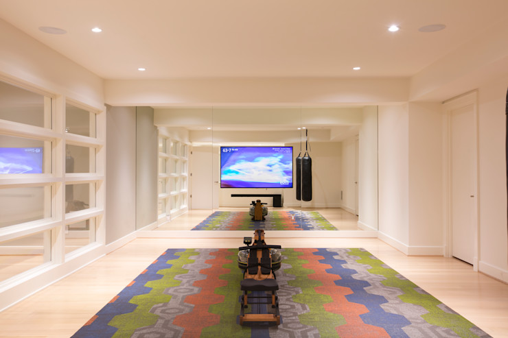 FORMA Design Inc. Modern gym