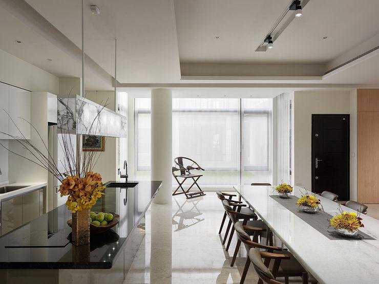 桃園大溪 自在居所 ACE 空間制作所 現代廚房設計點子、靈感&圖片