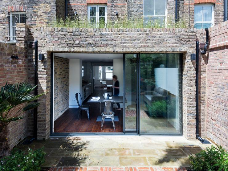 Rear elevation Brosh Architects Modern Houses Bricks
