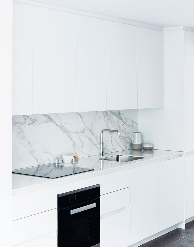 Kitchen Brosh Architects Modern Kitchen White