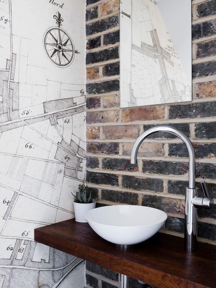 WC Brosh Architects Modern Bathroom