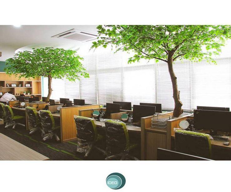 Angkasa Pura II IDEO DESIGNWORK Dinding & Lantai Minimalis