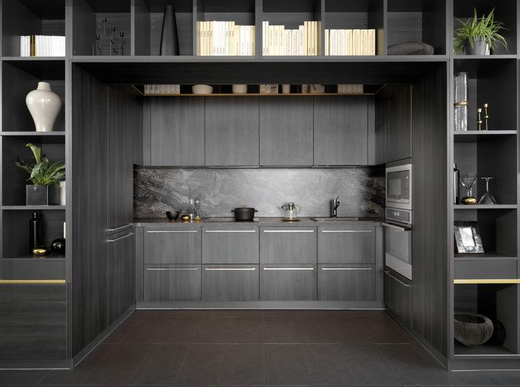 Die im Wohnregal versteckte Küche Schmidt Küchen
