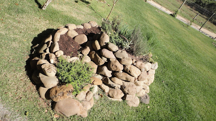 A+R arquitetura Сад камней Камень Зеленый