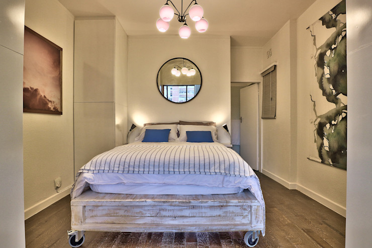 bedroom Studio Do Cabo Industrial style bedroom