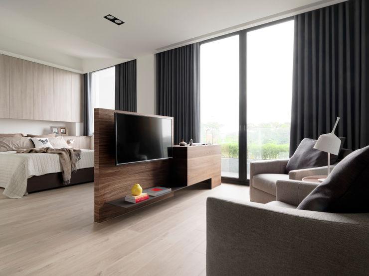 禾築國際設計Herzu Interior Design Quartos modernos