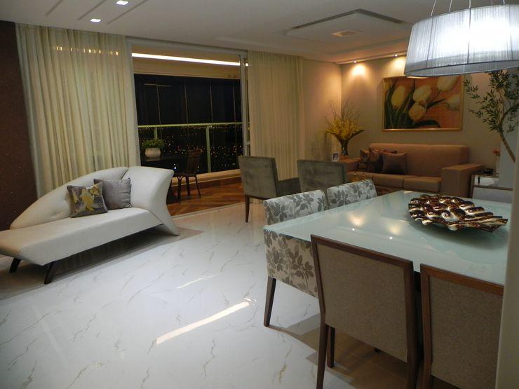 Maiara Viana Ateliê de Arquitetura Modern dining room