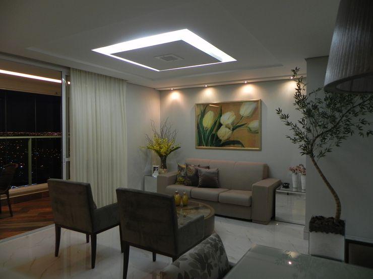 Maiara Viana Ateliê de Arquitetura Modern living room