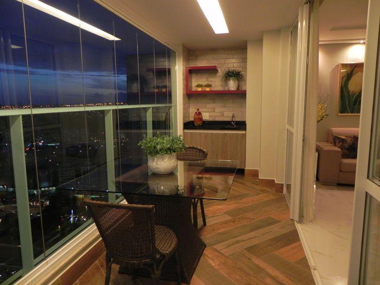 Maiara Viana Ateliê de Arquitetura Modern walls & floors