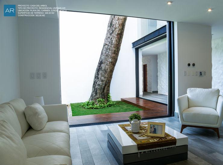 TAM (Taller de Arquitectura Modular) 现代客厅設計點子、靈感 & 圖片