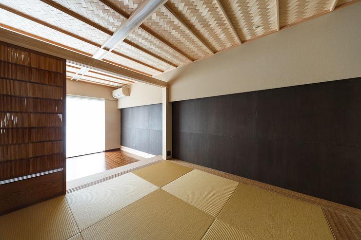 マンションリフォーム 傳寶慶子建築研究所 オリジナルデザインの 多目的室