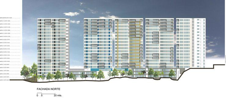 de Silva Arquitectos Single family home Concrete Multicolored