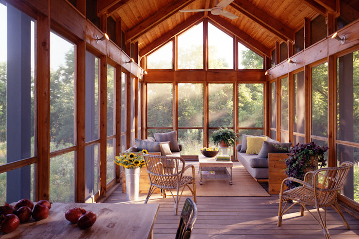 Hayden Lane Residence, Bucks County, PA BILLINKOFF ARCHITECTURE PLLC Patios & Decks
