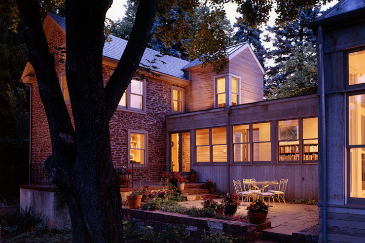 Hayden Lane Residence, Bucks County, PA BILLINKOFF ARCHITECTURE PLLC Country style house