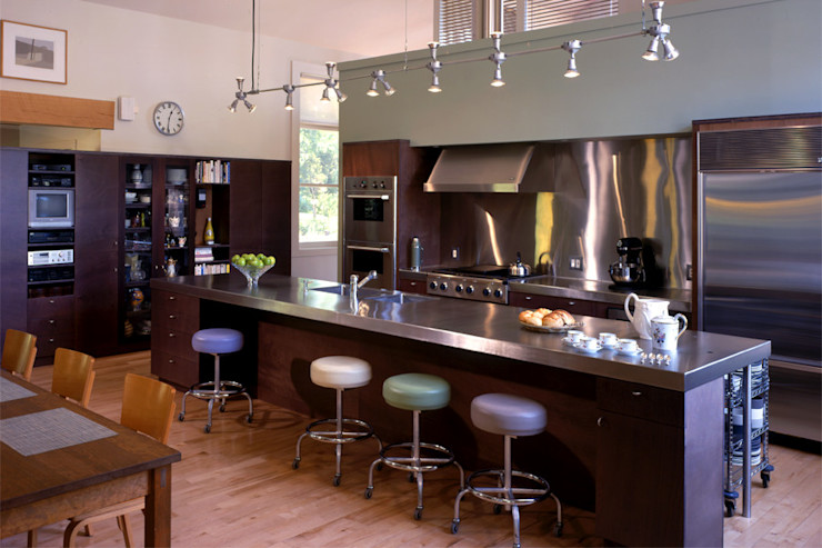Hayden Lane Residence, Bucks County, PA BILLINKOFF ARCHITECTURE PLLC Kitchen