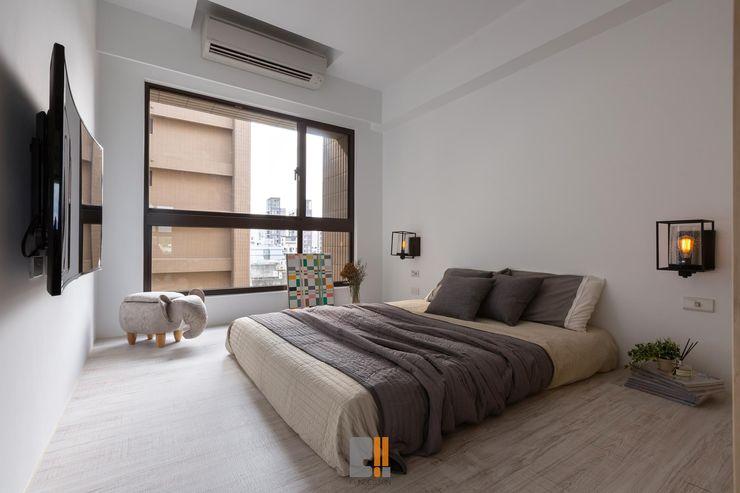 築川設計 Modern Bedroom