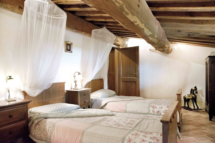 TCC_COUNTRYHOUSE Caterina Raddi Camera da letto rurale