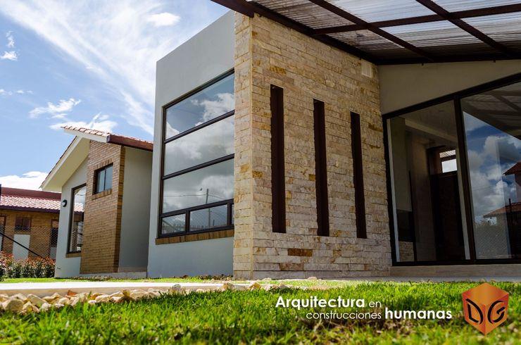 DG ARQUITECTURA COLOMBIA Einfamilienhaus Stein