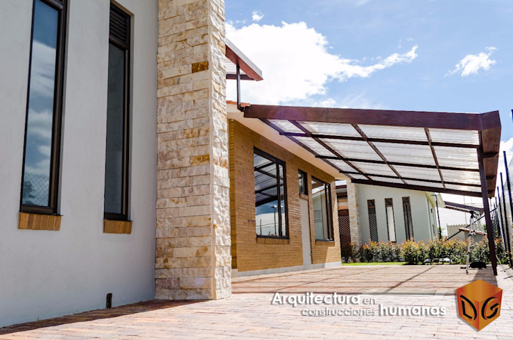 DG ARQUITECTURA COLOMBIA Einfamilienhaus Ziegel