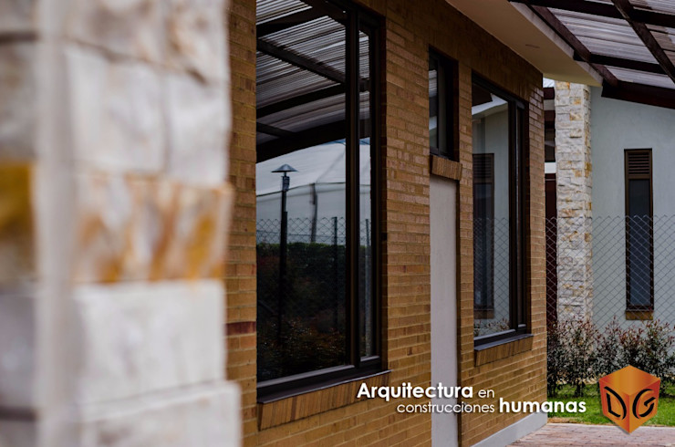 DG ARQUITECTURA COLOMBIA Moderne Häuser Ziegel