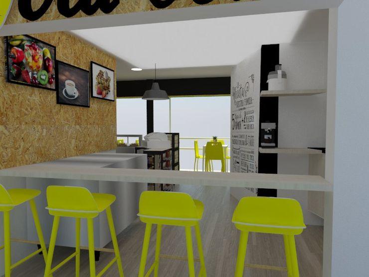 Naromi Design Built-in kitchens Wood White