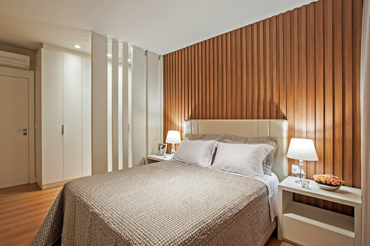 Carolina Kist Arquitetura & Design Moderne Schlafzimmer