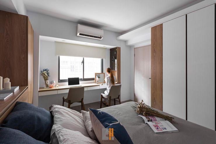 築川設計 Chambre moderne