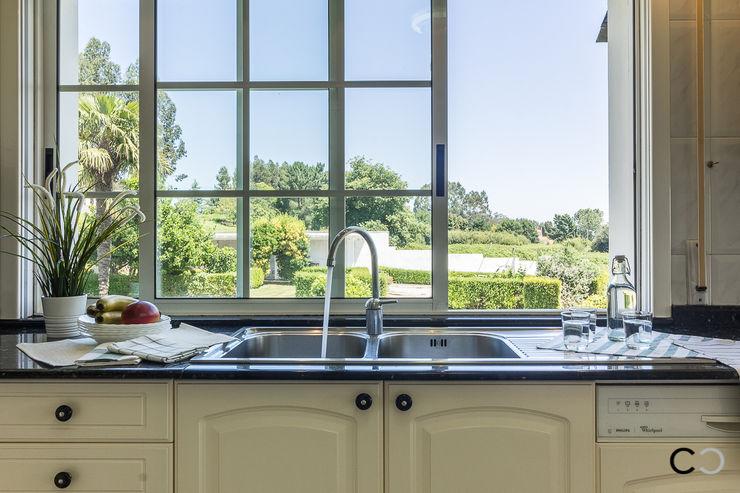 CCVO Design and Staging Modern kitchen Beige