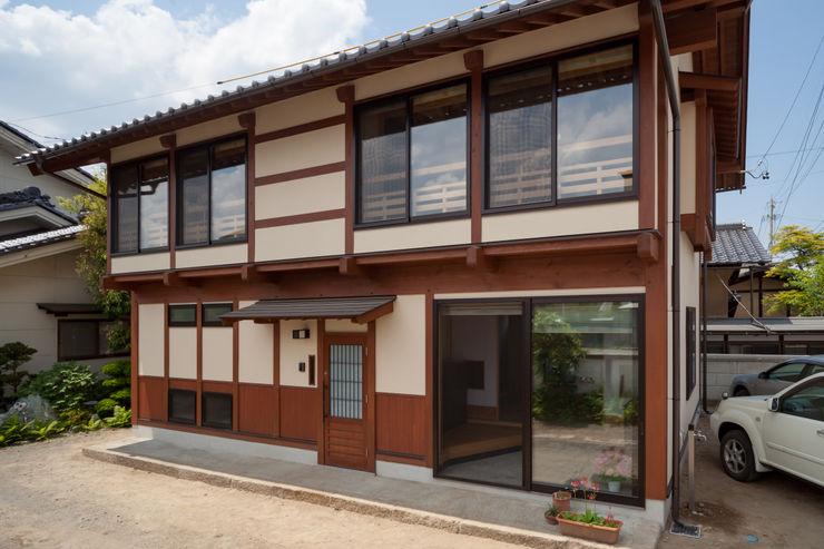 外観 安藤建築設計工房 木造住宅 木 木目調