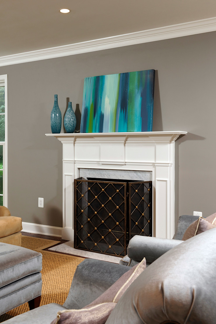 Whole House Design Build Renovation in Bethesda, MD BOWA - Design Build Experts Living room