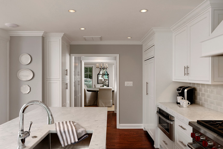 Whole House Design Build Renovation in Bethesda, MD BOWA - Design Build Experts Kitchen