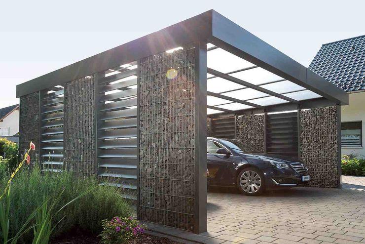 Steelmanufaktur Beyer Carport Metal Grey