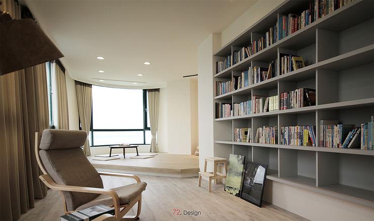 職員休息室 柒貳設計 Industrial style living room