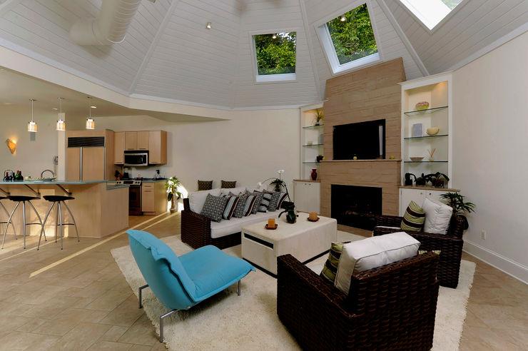 BOWA - Design Build Experts Livings de estilo clásico