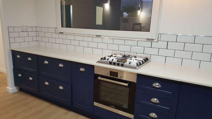 Cooking Area Cape Kitchen Designs Modern kitchen MDF Blue
