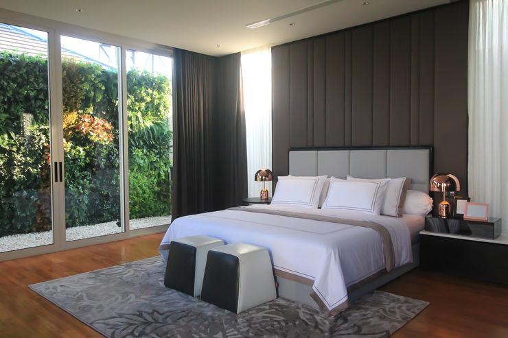 SL RESIDENCE ALIGN architecture interior & design Kamar Tidur Tropis