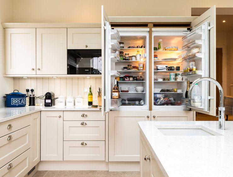 Integrated fridges John Gauld Photography Cozinhas embutidas
