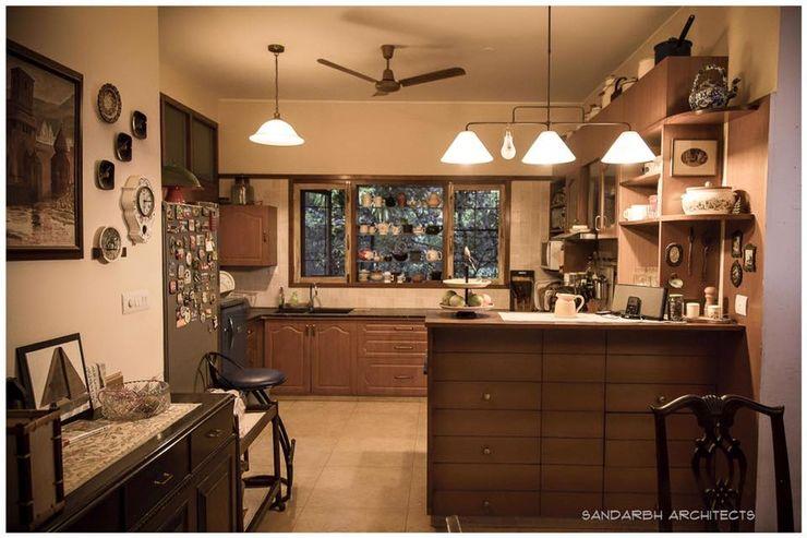 Sandarbh Design Studio 에클레틱 주방