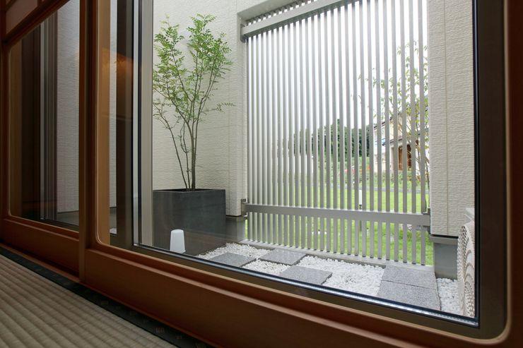 やまぐち建築設計室 Zen garden Stone White
