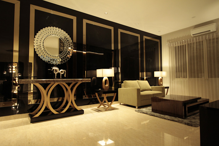 Family room 2nd floor Kottagaris interior design consultant Ruang Keluarga Modern