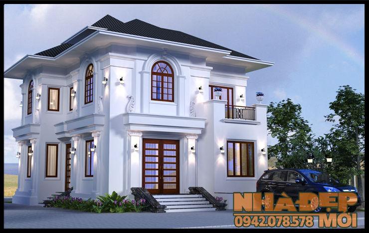 Duyên dáng và nổi bật Công ty TNHH TKXD Nhà Đẹp Mới Biệt thự