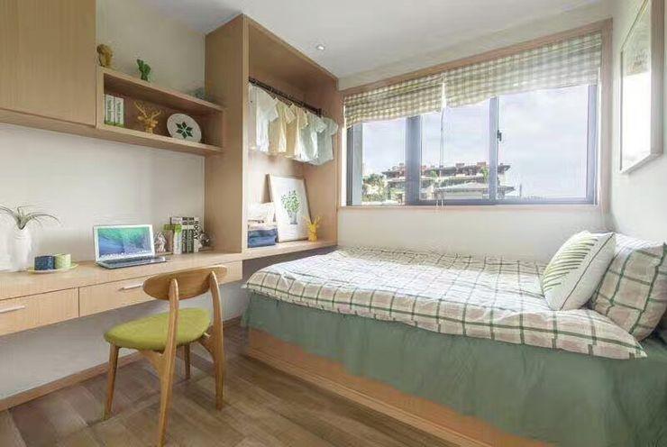KD Panels Minimalist bedroom Wood Wood effect