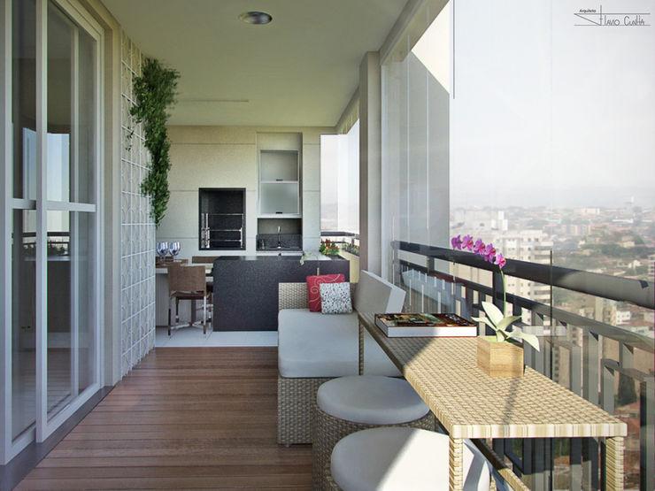 Residencial Mooca SET Arquitetura e Construções Varandas, alpendres e terraços modernos